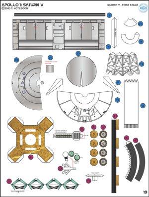 apollo spacecraft paper model - photo #26
